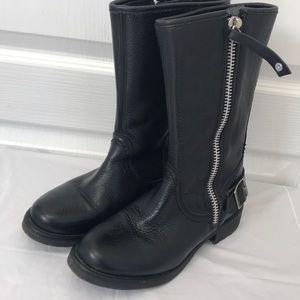 Harley Davidson zipper boots